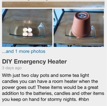 How to make your own emergency room heater musely for How to heat your room