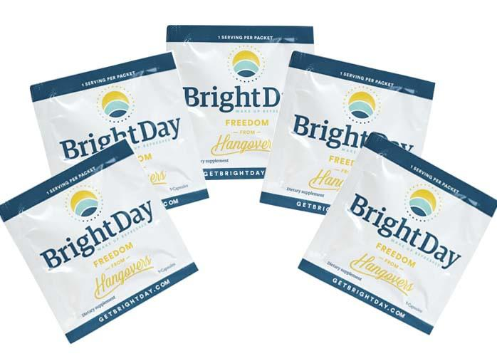 First thing you should know: It is easier to prevent a hangover than to cure it. By taking BrightDay as you drink, you are providing your body with the nutrients it needs to more efficiently remove these toxins and prevent your hangover!