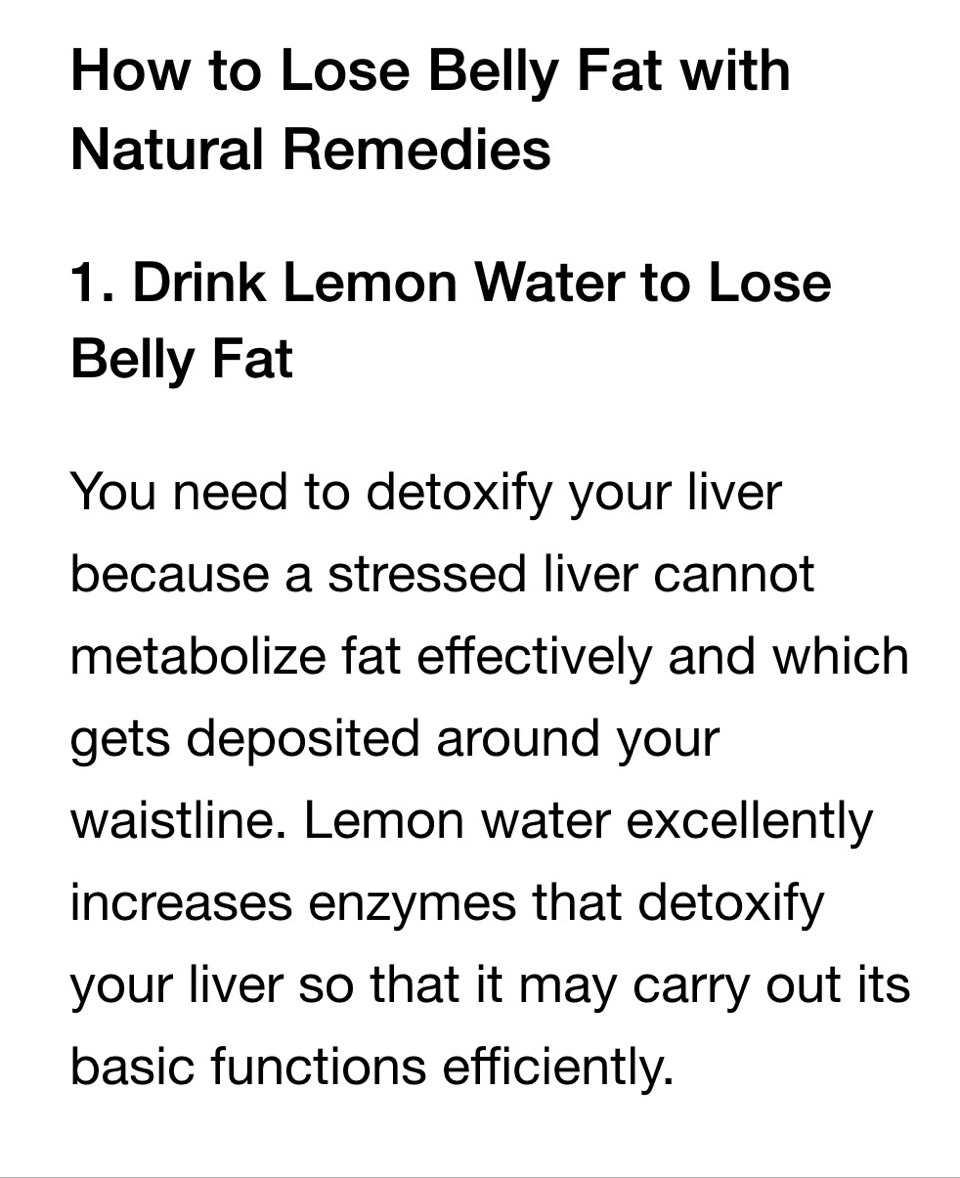 Home remedies to lose weight in two weeks image 2