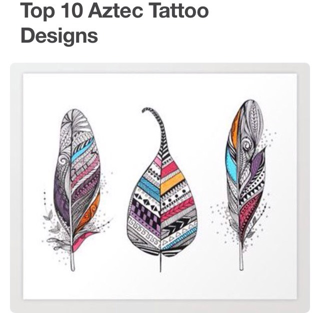 top 10 aztec tattoo ideas musely. Black Bedroom Furniture Sets. Home Design Ideas