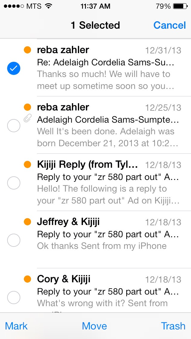 how to make emails go to junk on iphone