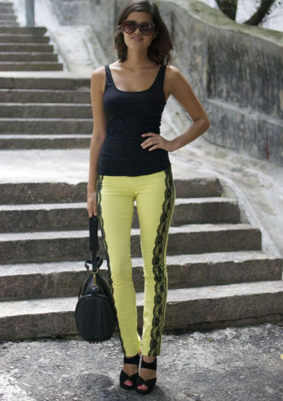 Как украсить джинсы (122 фото кружевом, стразами. - wLOOKS ) 33