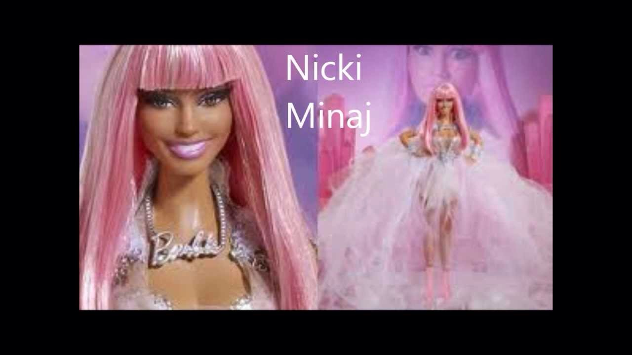 Celebrity Barbie Dolls! - Musely