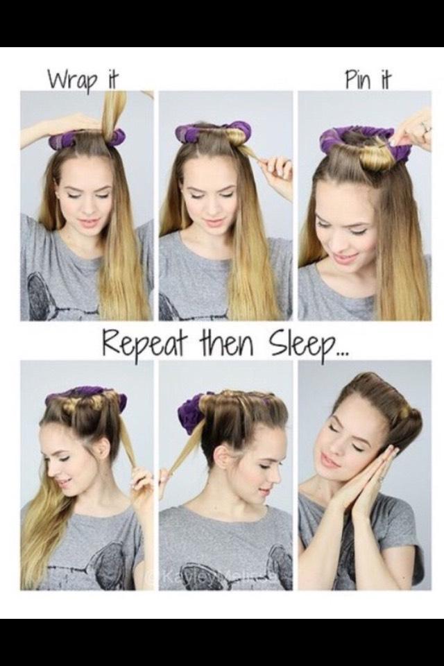 Как сделать крупные кудри на длинные волосы в домашних условиях
