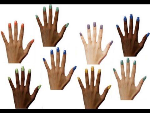 Фото лак для ногтей для смуглой кожи