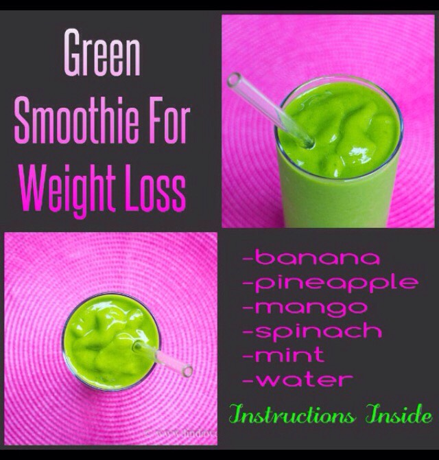 10, green, smoothie, recipes for, quick, weight