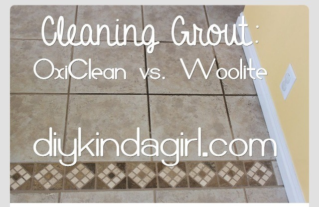 how to clean my grout