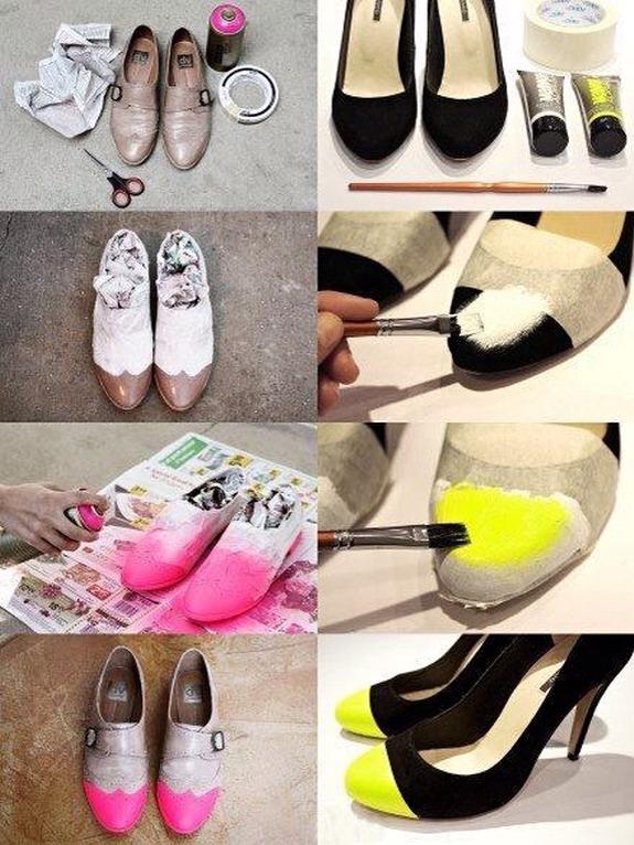 Своими руками переделать обувь