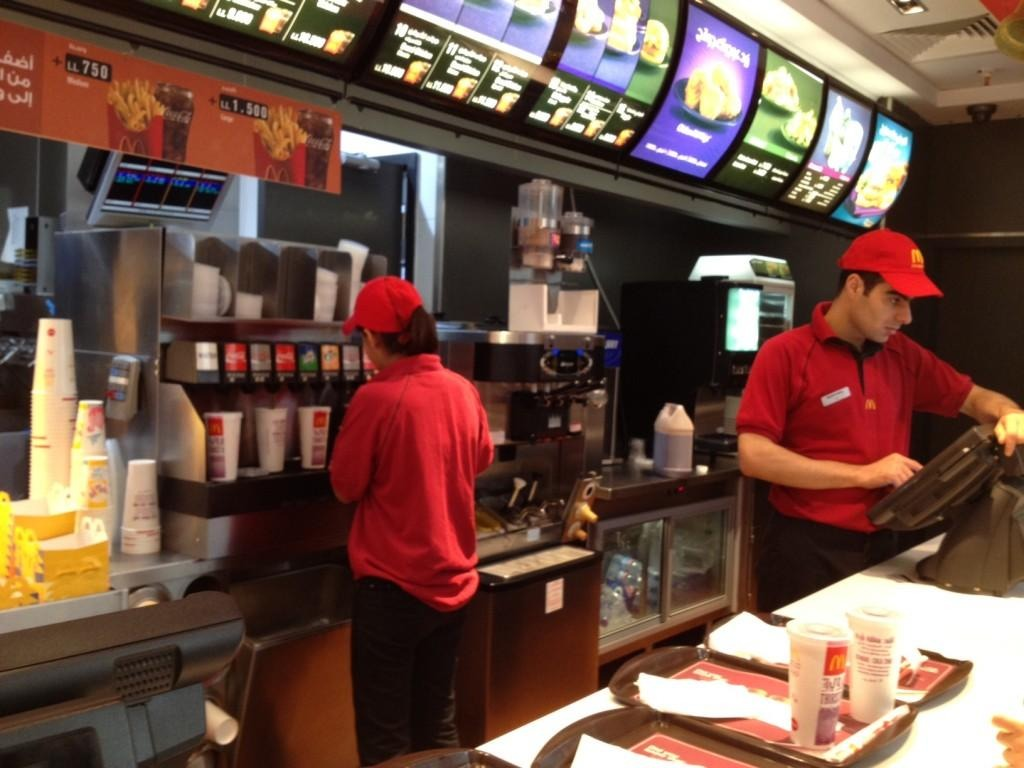Working in the Fast food Industry