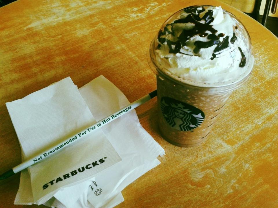 How to make a frap more caffeinated if you order a frappuccino with