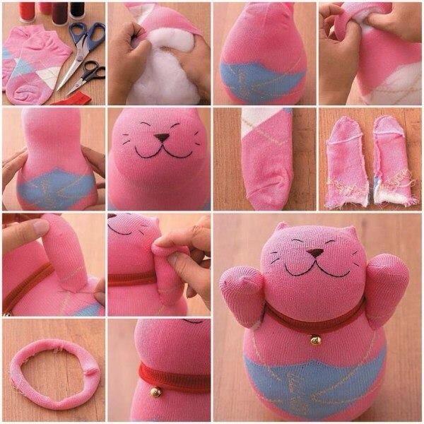 Изготовление мягких игрушек своими рука 99