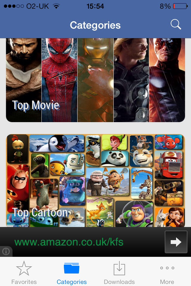 Best App For Films. Cartoon HD for iPhone, iPad: http ...