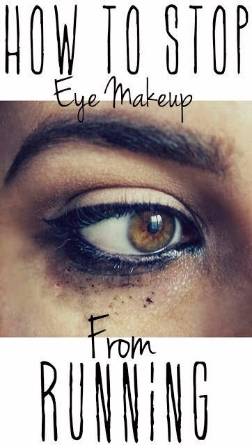 how to stop makeup from smudging