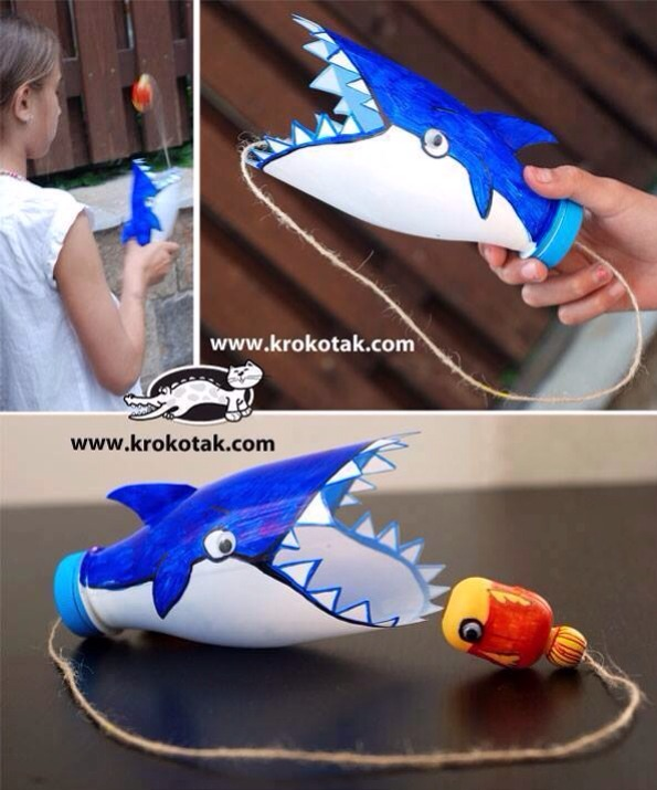 Игрушки из пластиковых бутылок своими руками как делать на елку