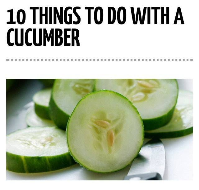 how to make cucumber jelly