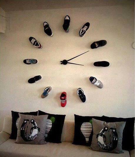 Часы в стене своими руками
