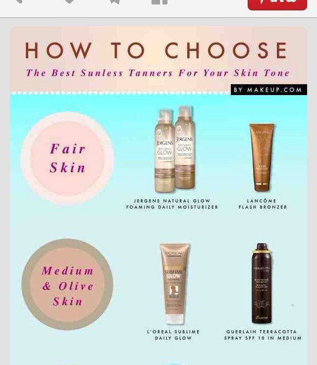 How To Choose The Best Sunless Tanners For Your Skin Tone ...
