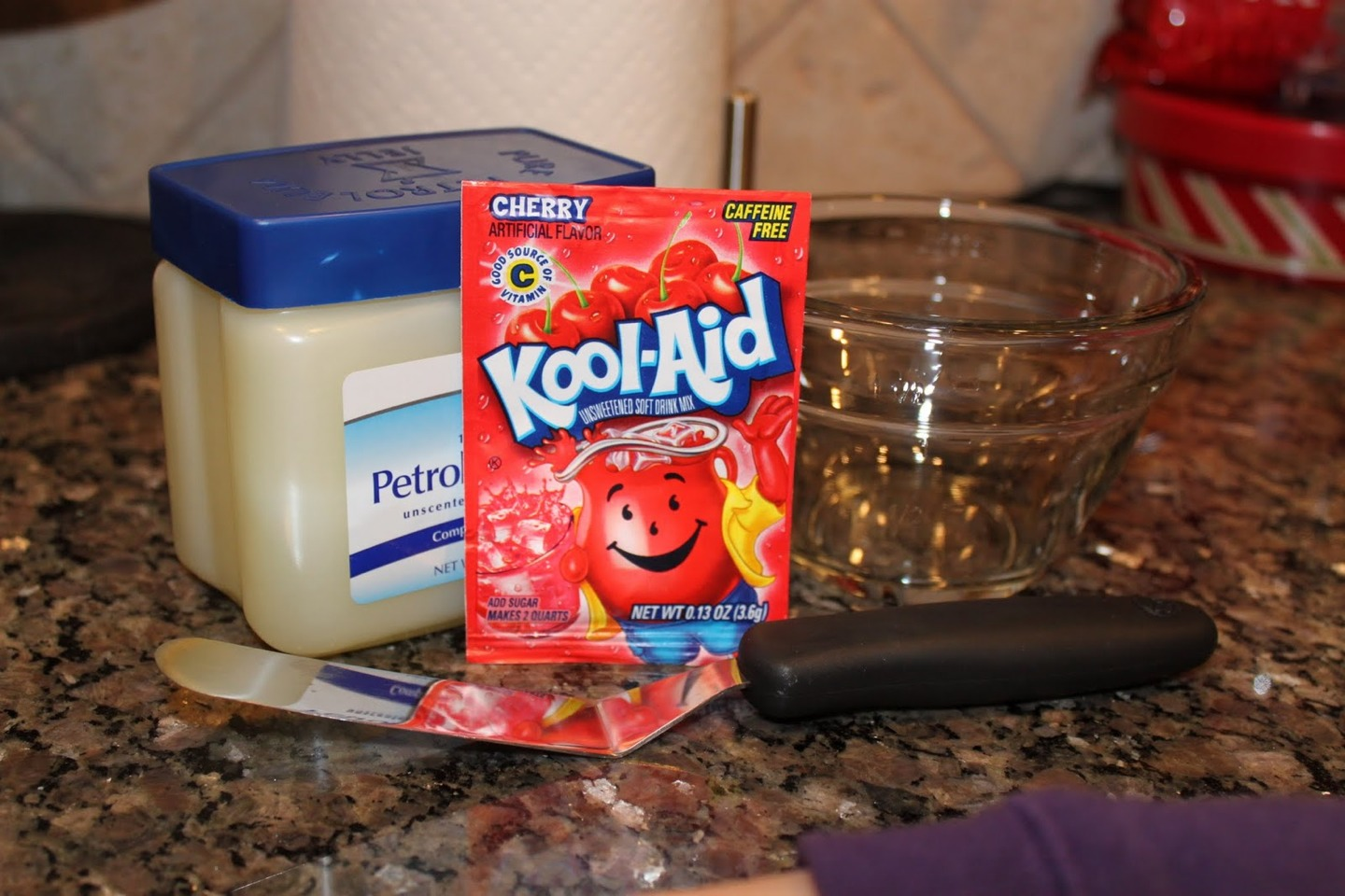 how to make lip balm with vaseline and kool aid