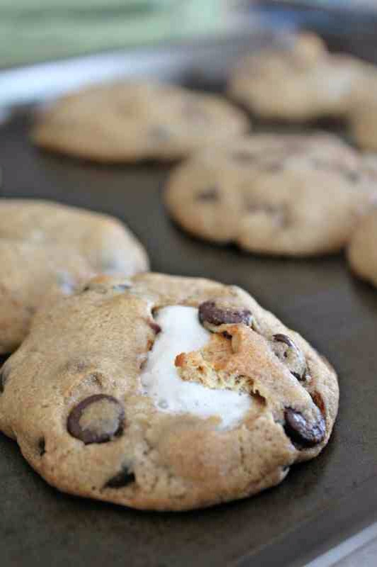 more Stuffed Chocolate Chip Cookies - Musely