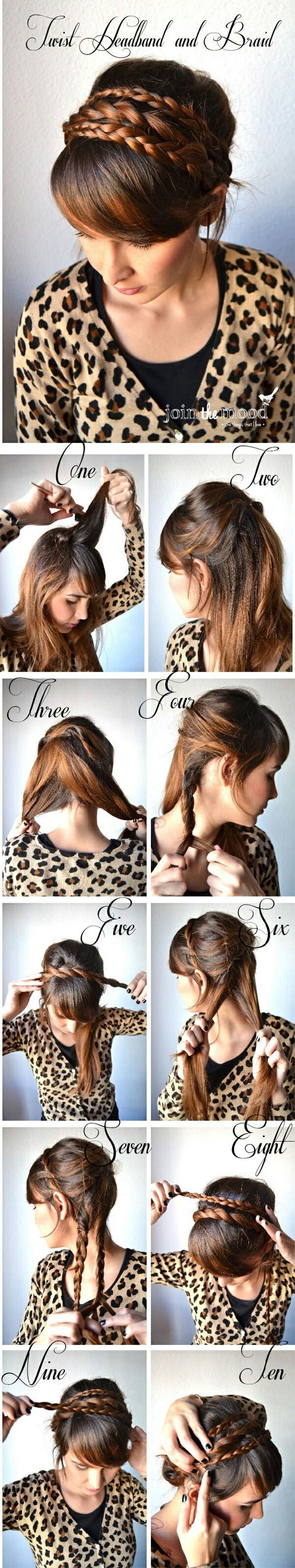 Как сделать причёску как у леи