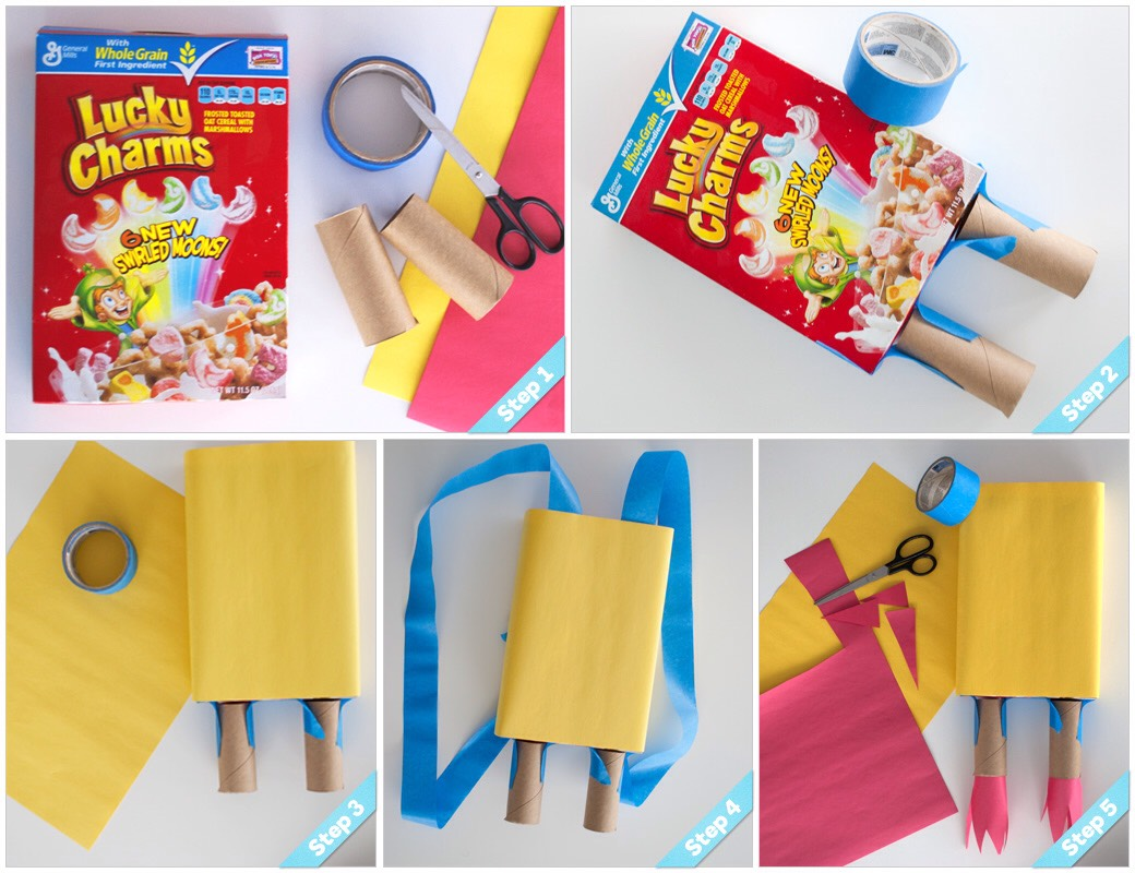 Diy Using Empty Cereal Boxes💕👍😍 Musely