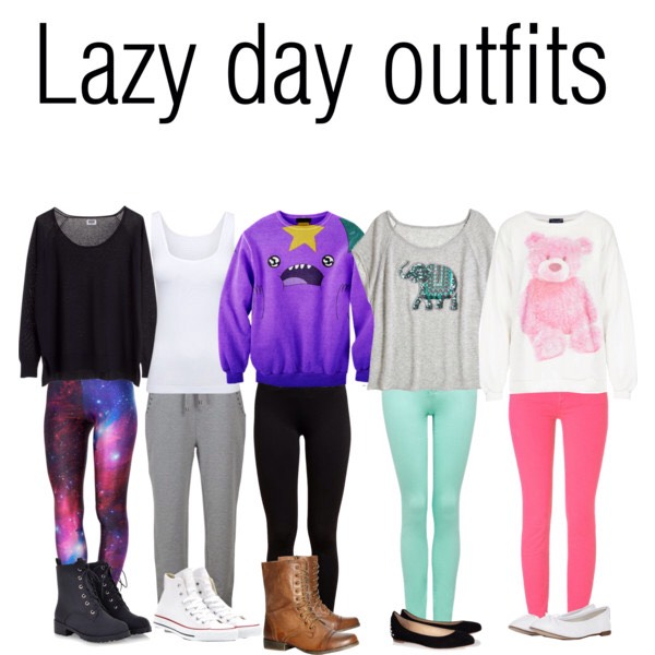 Lazy Day Outfits - Musely