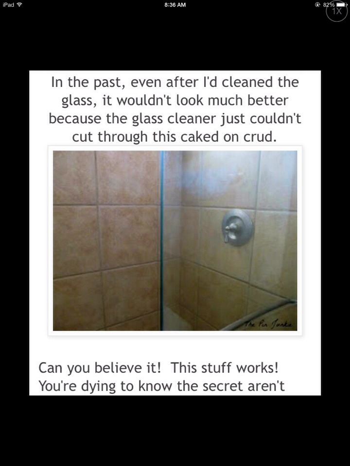 How to make ur bathroom glass doors shine musely - Make bathroom shine ...