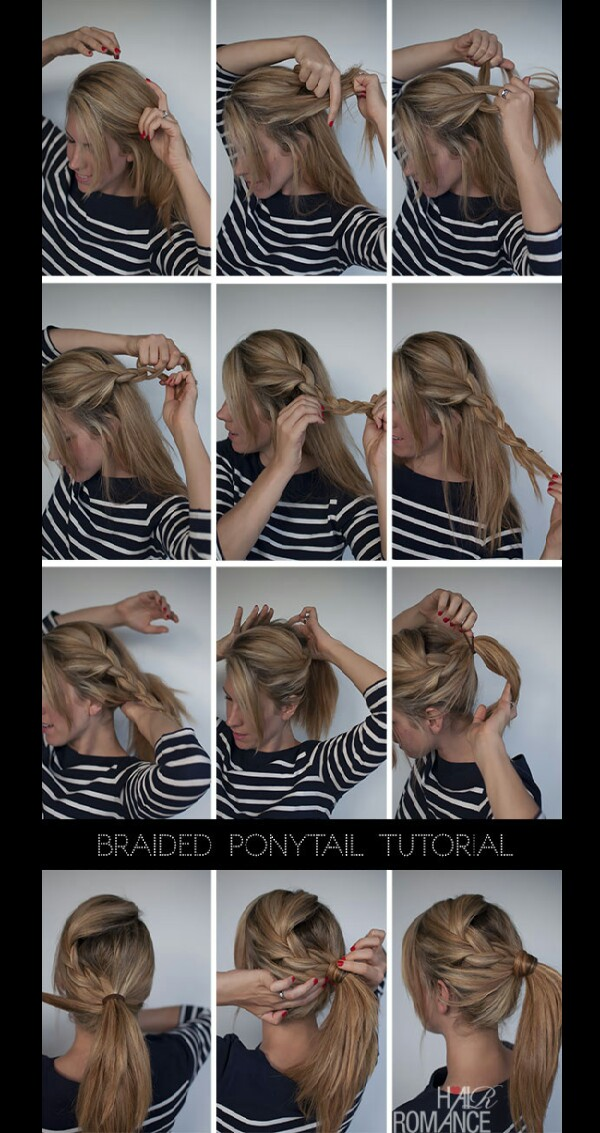 100 Happy Hair Days ♡ Day 3 The Braided Ponytail Musely