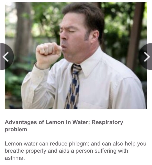 Advantages Of Drinking Lemon Water