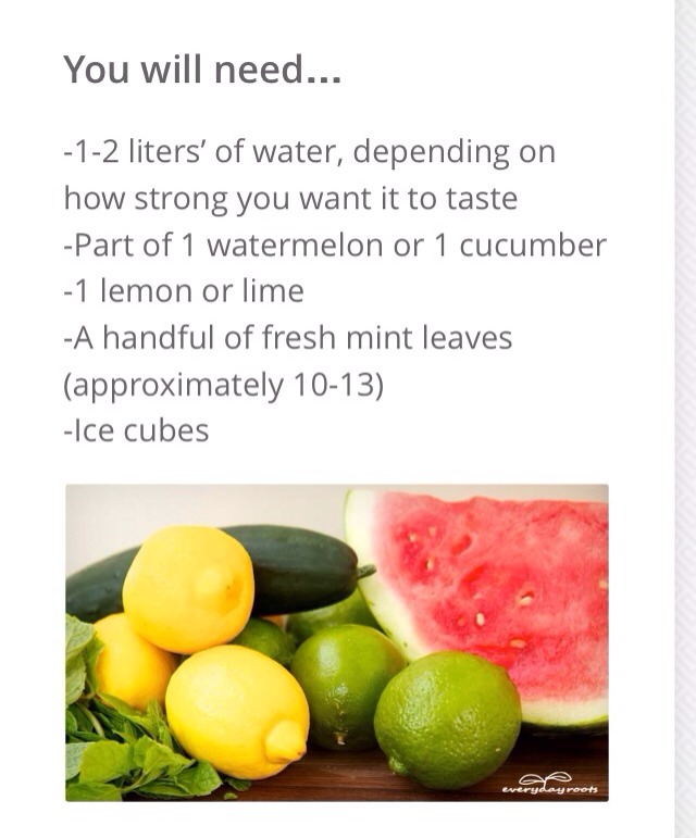 How To Make Your Own Detox Drink!! - Musely