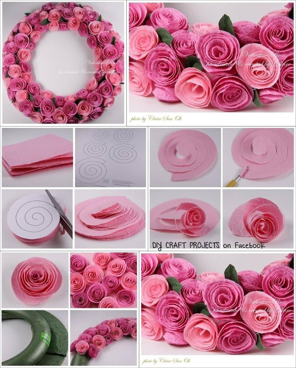 Как самому сделать декоративный цветок
