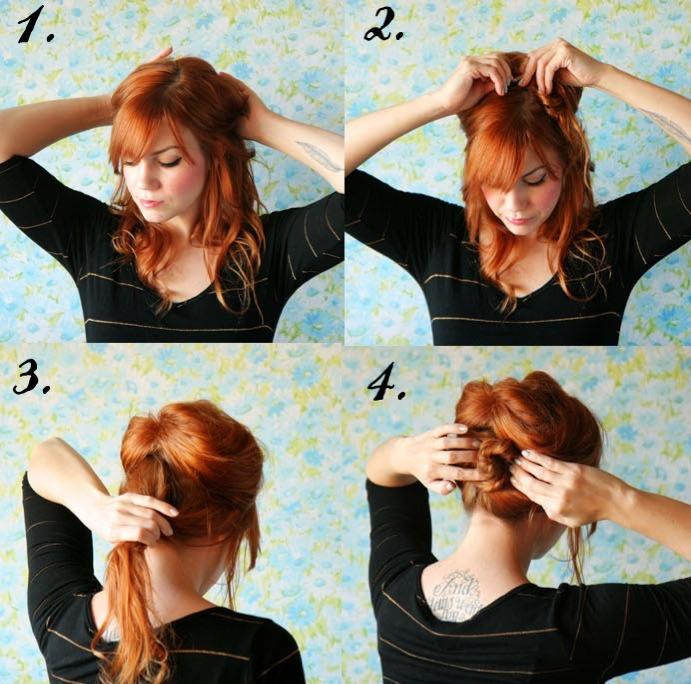 Как делать причёску с короткими волосами