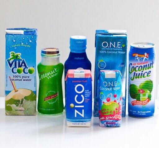 acqua di cocco calorie