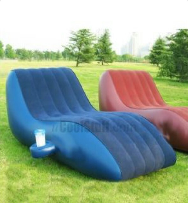 the outdoor sofa great for tanning musely