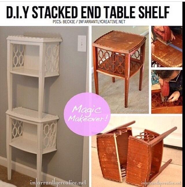 Переделка старой мебели своими руками до и