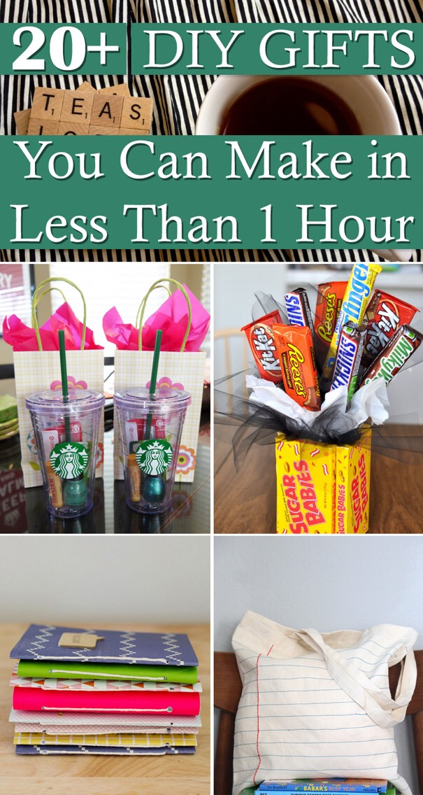 7 diy gifts you can make in less than 1 hour musely for Gifts u can make