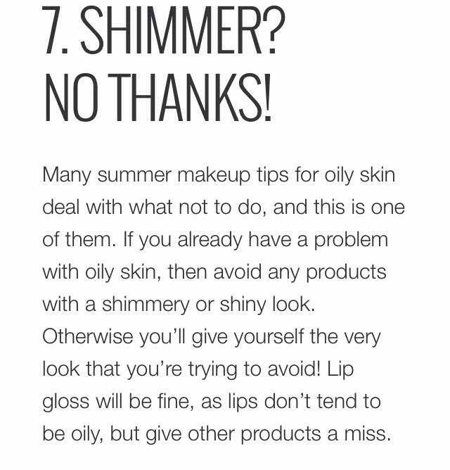 5 Makeup Tricks for Oily Skin picture