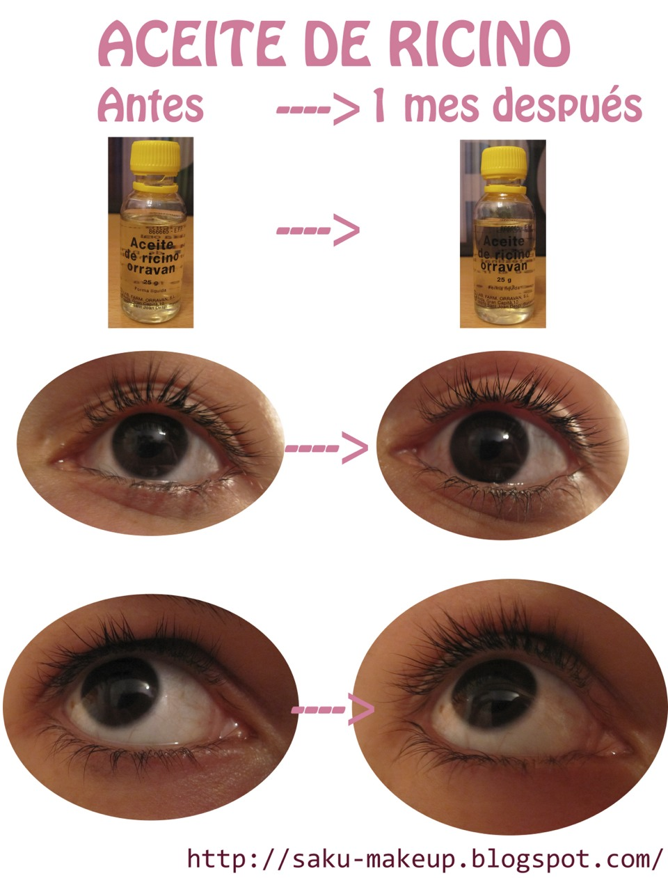 Castro Oil For Eyelash Growth I Try Really Works