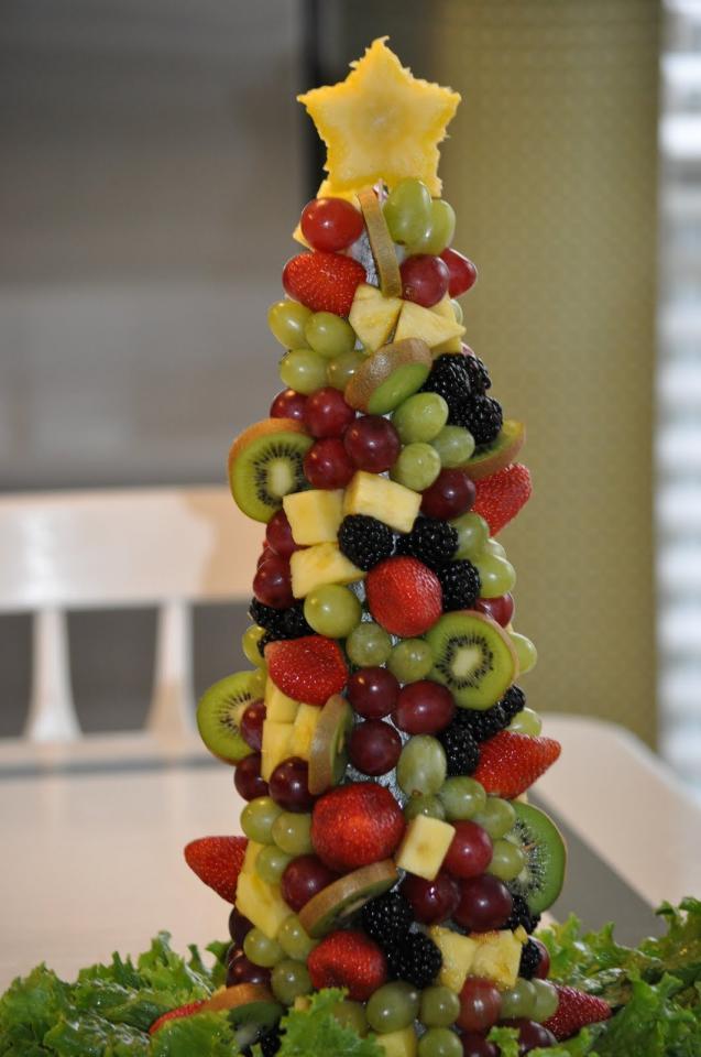 Christmas tree ou of fruit musely for Kiwi albero