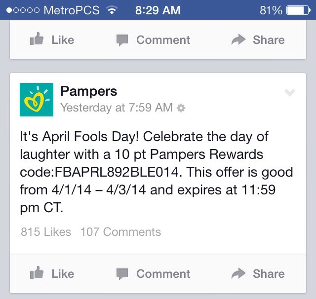 Pampers Reward Catalog: What kind of swag can you score?