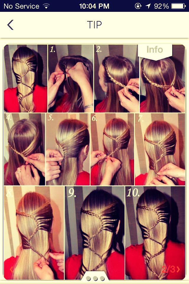 Как сделать начёс в домашних условиях