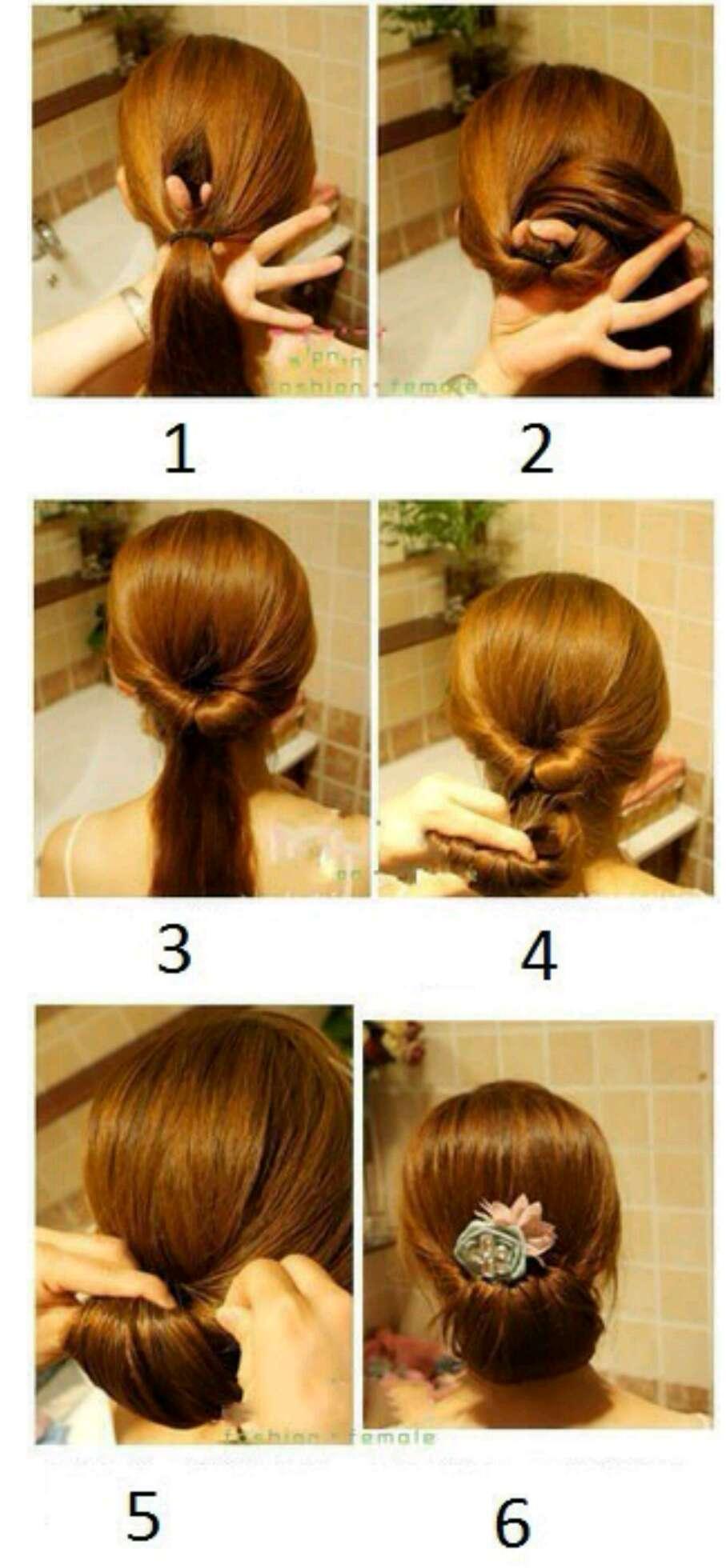 Красивые причёски на средние волосы быстро и легко