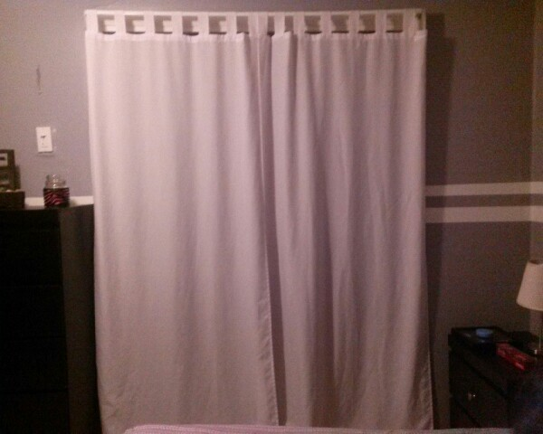 Don 39 T Have Closet Doors Use Curtains Instead Buying