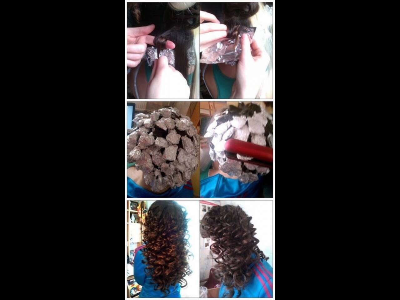 Easy Way To Curl Your Hair Without A Curling Iron Wand