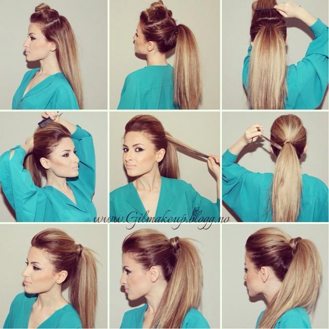 новые прически на каждый день на длинные волосы
