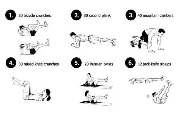 Quick And Effective Ab Workout