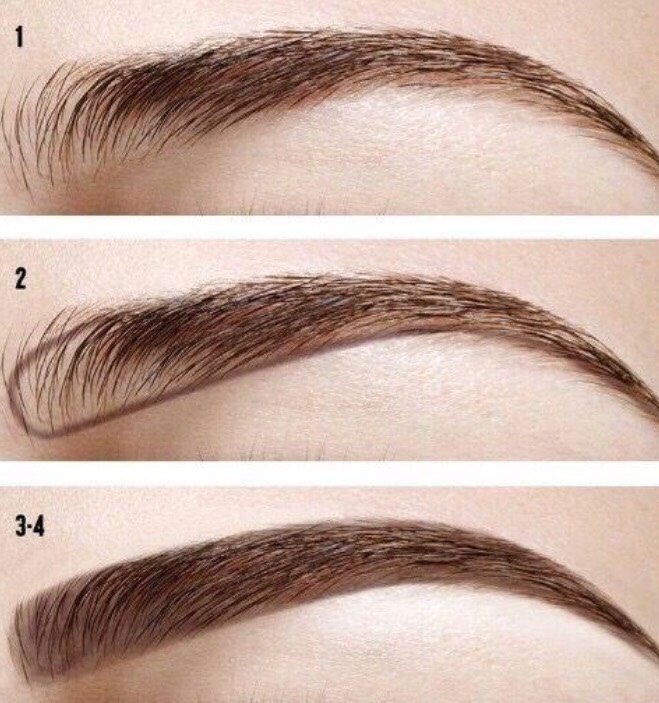 Image result for how to do eyebrows
