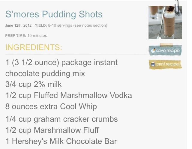 mores Pudding Shots - Perfect For Parties! - Musely