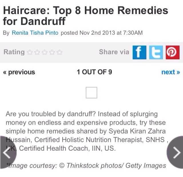 a report on home remedies for dandruff Find out 11 ways of how to remove dandruff naturally and say stop to a flaky scalp  11 popular home remedies for dandruff  get a free report on weight loss.