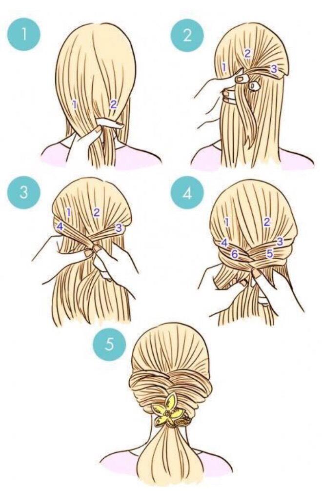 Как сделать легкую косу